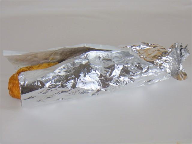 受け取り時のプルコギベイクの包み紙