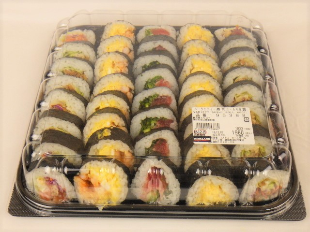 コストコ バラエティ寿司ロール
