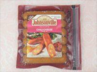 ジョンソンヴィルのチリチーズ味パッケージ