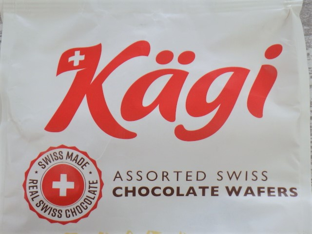 コストコのカーギ チョコウエハースのロゴ