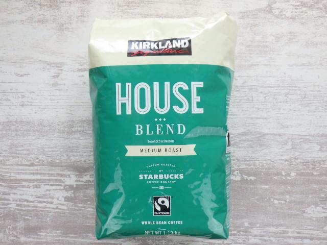 コストコ カークランドシグネチャー ハウスブレンド コーヒー豆