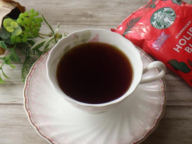 コストコのスターバックス ホリデーギフトセットのコーヒー