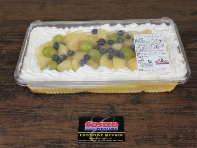 コストコの洋ナシスコップケーキのサイズ