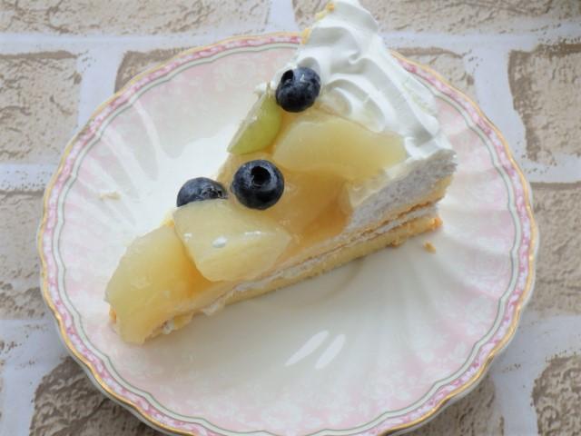 コストコの洋ナシスコップケーキの1カットサイズのカロリー