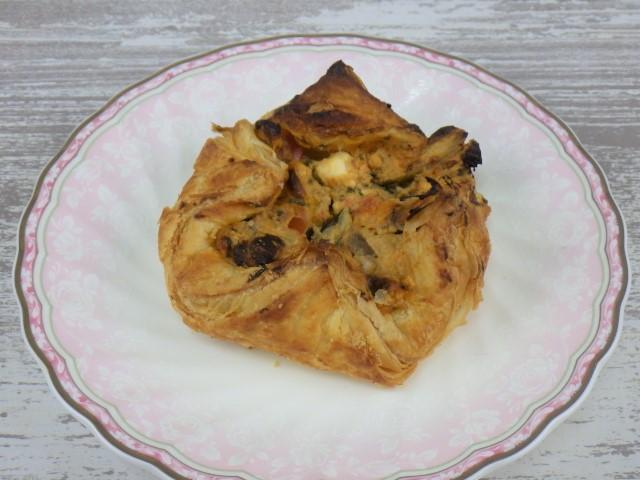コストコのセイボリーデニッシュの1個サイズ