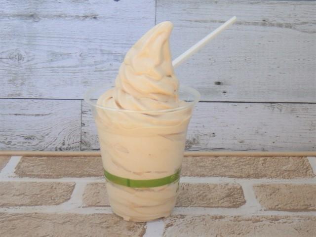 コストコのマロンソフトクリームの外観