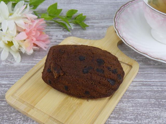 コストコのチョコレートラバーマドレーヌの盛りつけ写真