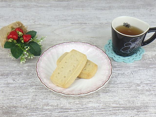 コストコのショートブレッドとコーヒーのセット