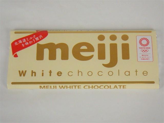チョコプレートに使うホワイトの板チョコ