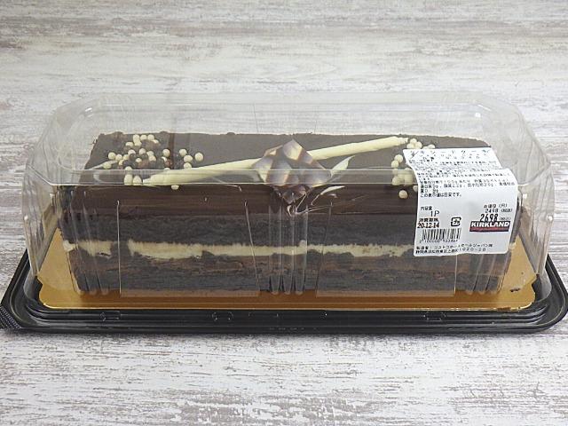 コストコのタキシードケーキの容器サイズ