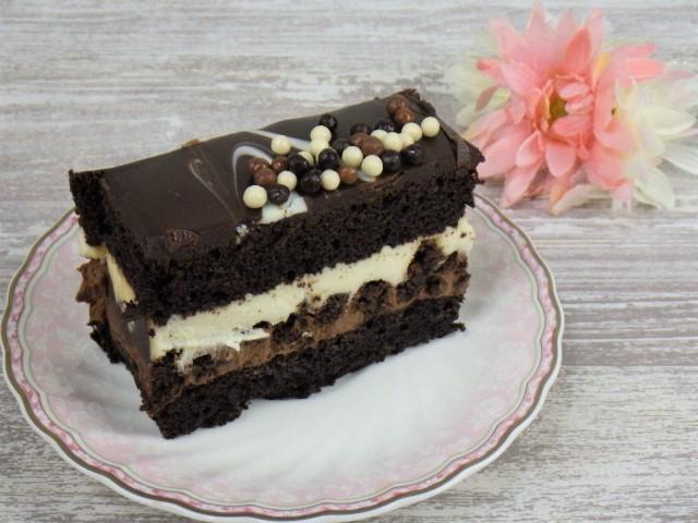 コストコのタキシードケーキの1カット