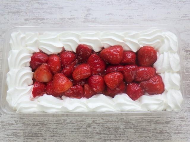 コストコのストロベリースコップケーキ