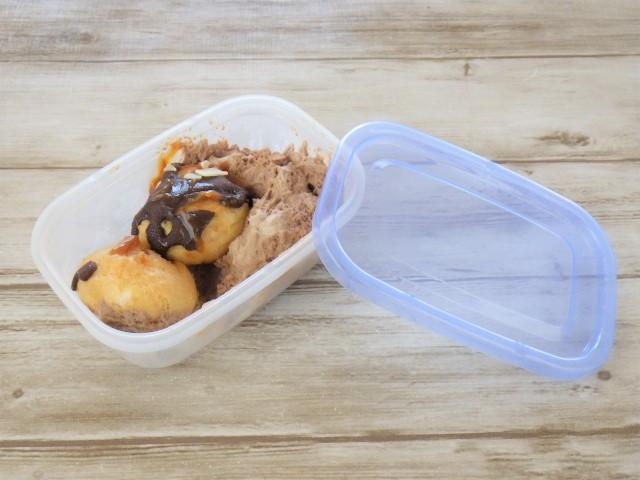 コストコのプロフィットロールデザートの冷凍保存方法
