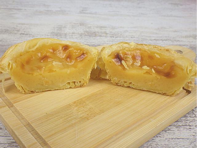 コストコのパステルデナタの冷凍状態