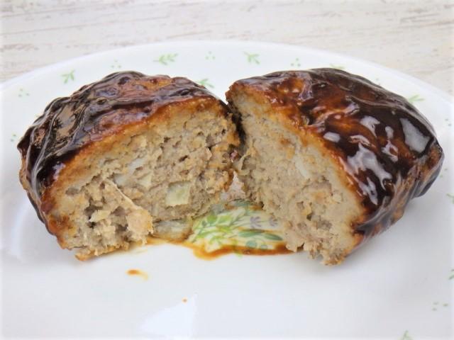 コストコの煮込みハンバーグキットの加熱前の状態