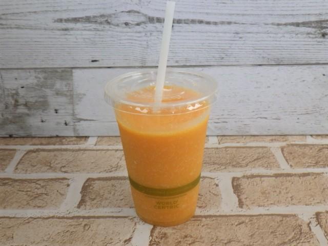 コストコのバレンシアオレンジスムージーの外観