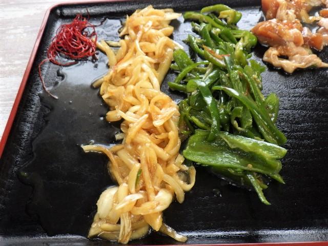 鶏肉カシューナッツ炒めに入っている野菜