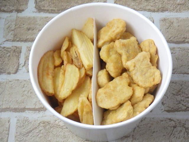 コストコのチキンナゲット&ポテト