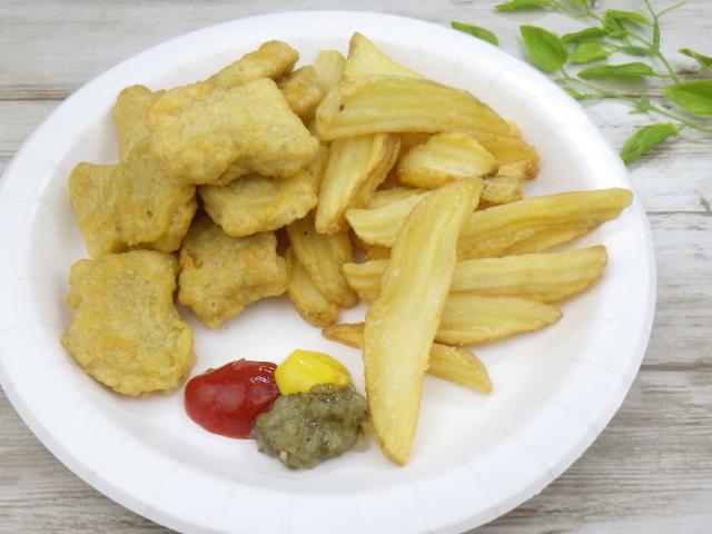チキンナゲット&ポテトにつけるソース