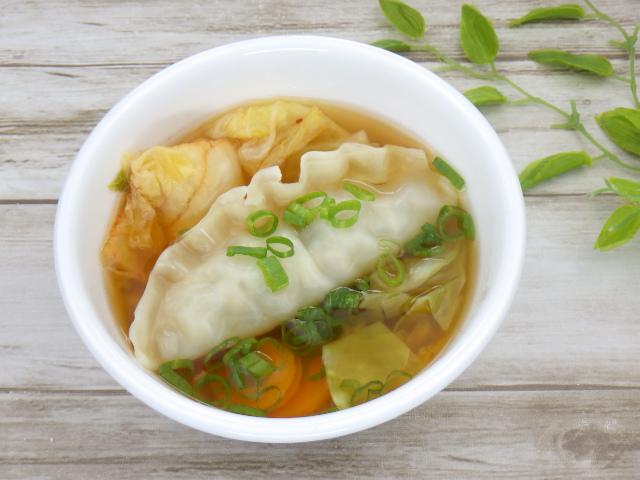 コストコのビビゴ王餃子のスープアレンジ