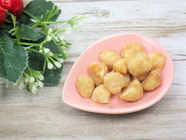 コストコのハニーローストマカダミアナッツの小皿盛り
