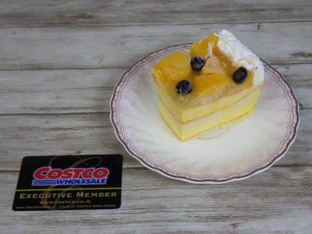 マンゴームーススコップケーキの12等分の1カット