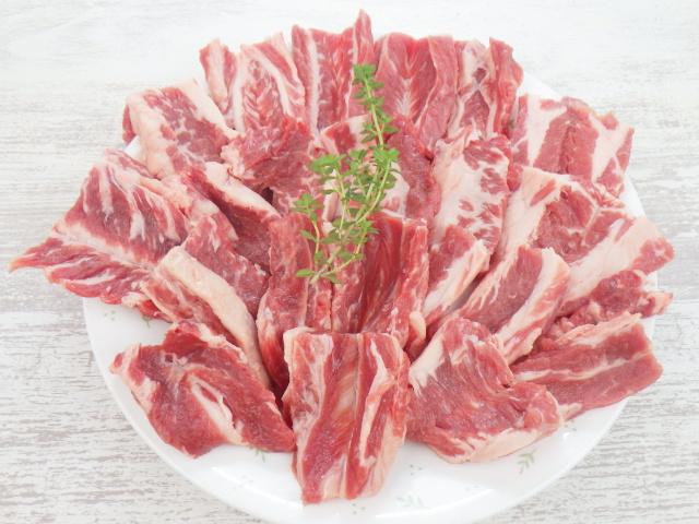 リブフィンガーで焼き肉用の開き切り