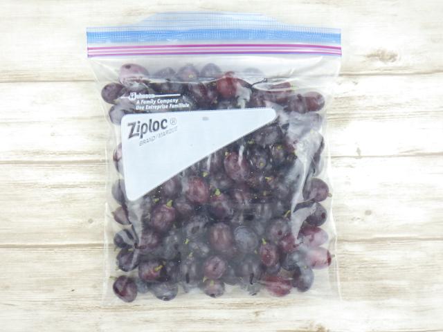 コストコのキャンディードリームグレープの冷凍保存方法