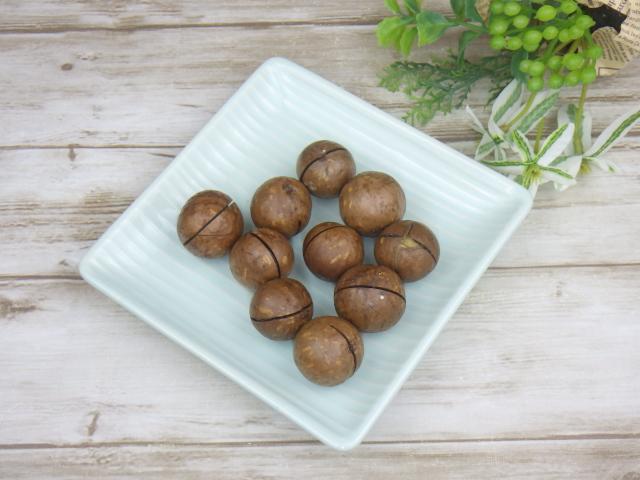 コストコの殻付きマカダミアナッツ10個