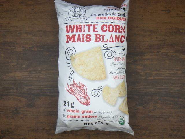 コストコのオーガニックホワイトコーントルティーヤチップス