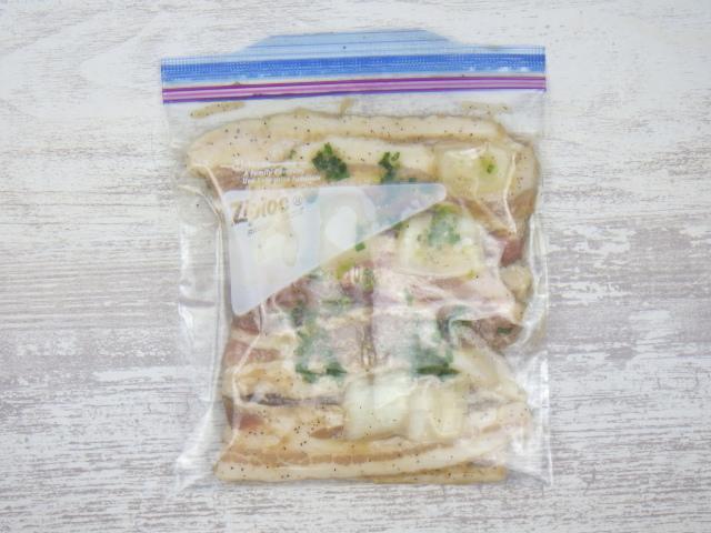 コストコのサムギョプサルの冷凍保存方法