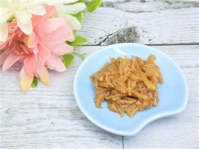 コストコの七味なめ茸の小皿盛り