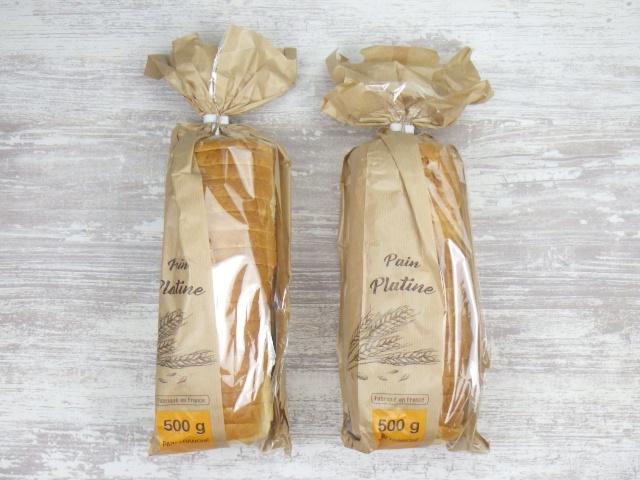 コストコのメニセーズ プラチナパンは2本入り