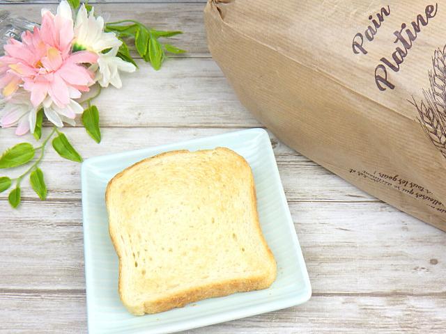 コストコのメニセーズ プラチナパンをトースト