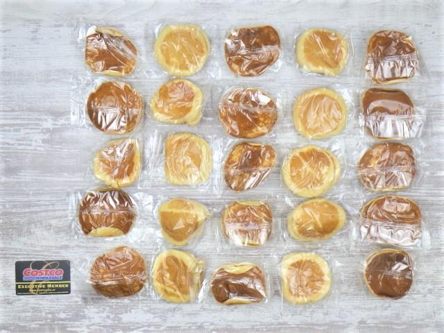 コストコのミニパンケーキの内容量