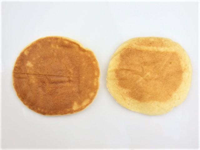 コストコのミニパンケーキの焼き目