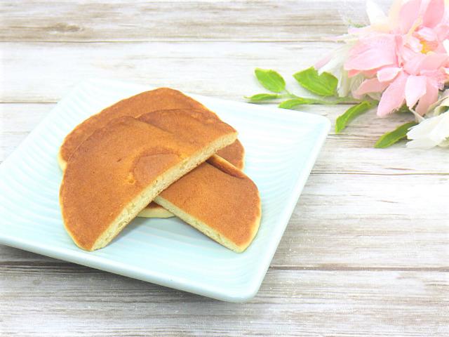 コストコのミニパンケーキの断面