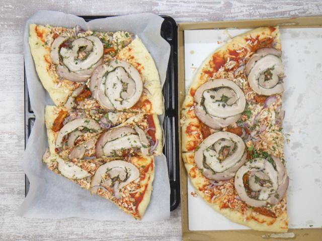 コストコのポルケッタピザの焼き方