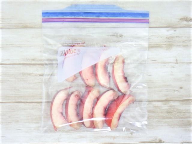 コストコのネクタリンの冷凍保存方法