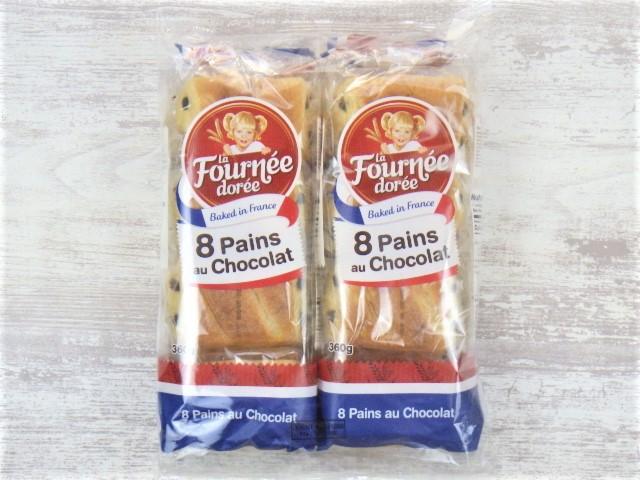 コストコのLa Fournee doreeバターパンオショコラのパッケージ