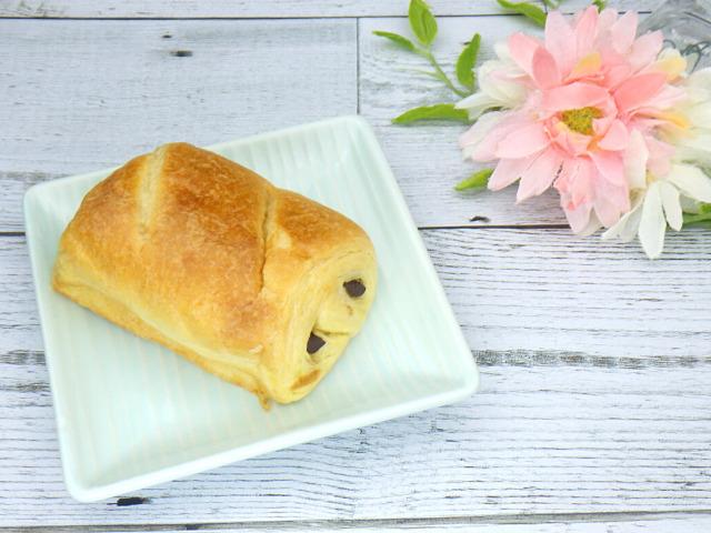 コストコのLa Fournee doreeバターパンオショコラの1個分