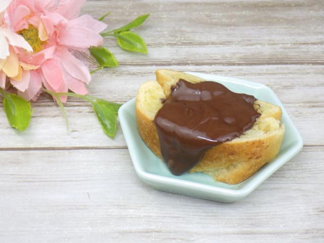 コストコのLa Fournee doreeバターパンオショコラのチョコフォンデュアレンジ