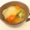 コストコ【餃子計画アレンジ方法】皮破片をスープにアレンジ♪(笑)レシピ☆